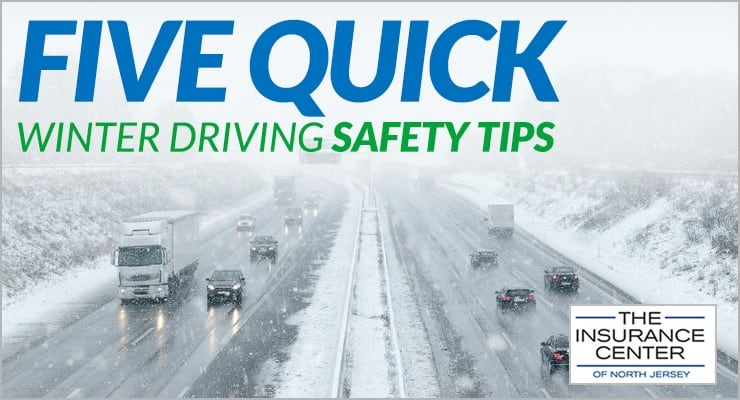 Five-Quick-Winter Driving Safety Tips